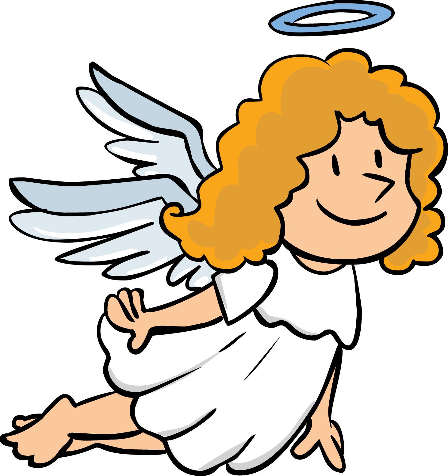 1461x1553 Angel Cartoon Clipart