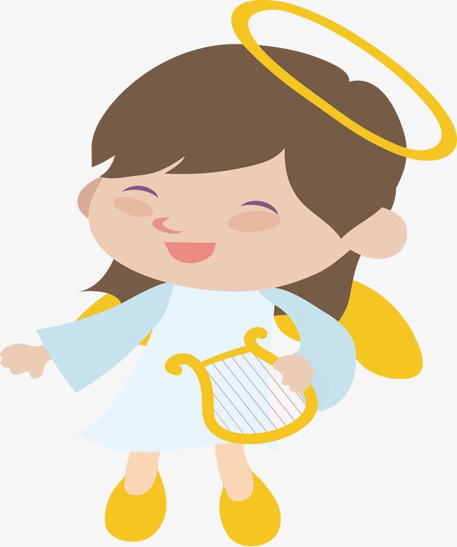 650x777 Cartoon Angel Girl, Girl, Angel, Cartoon Png And Vector For Free