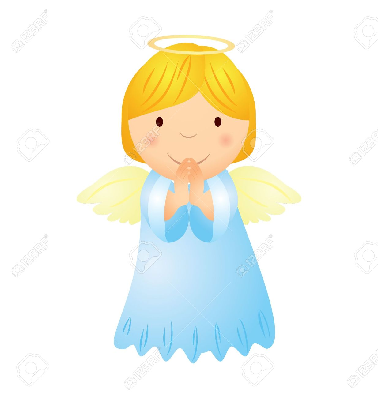 1234x1300 Cartoon Angel Girl With Magic Wand Royalty Free Cliparts, Vectors