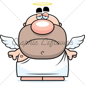 325x325 Cartoon Angel Gl Stock Images