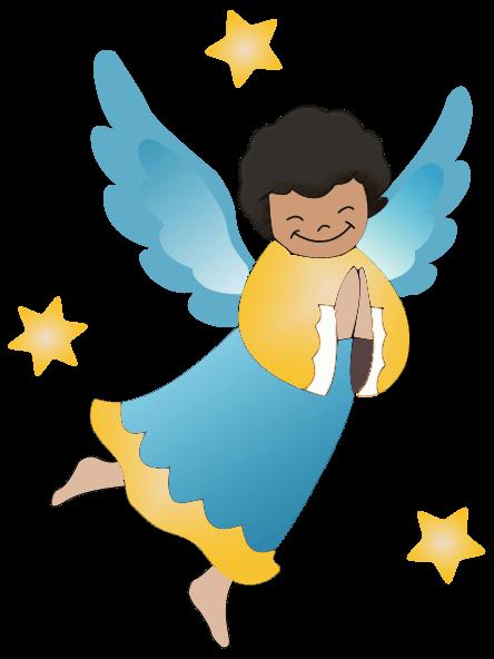 444x592 Cute Angel Cliparts