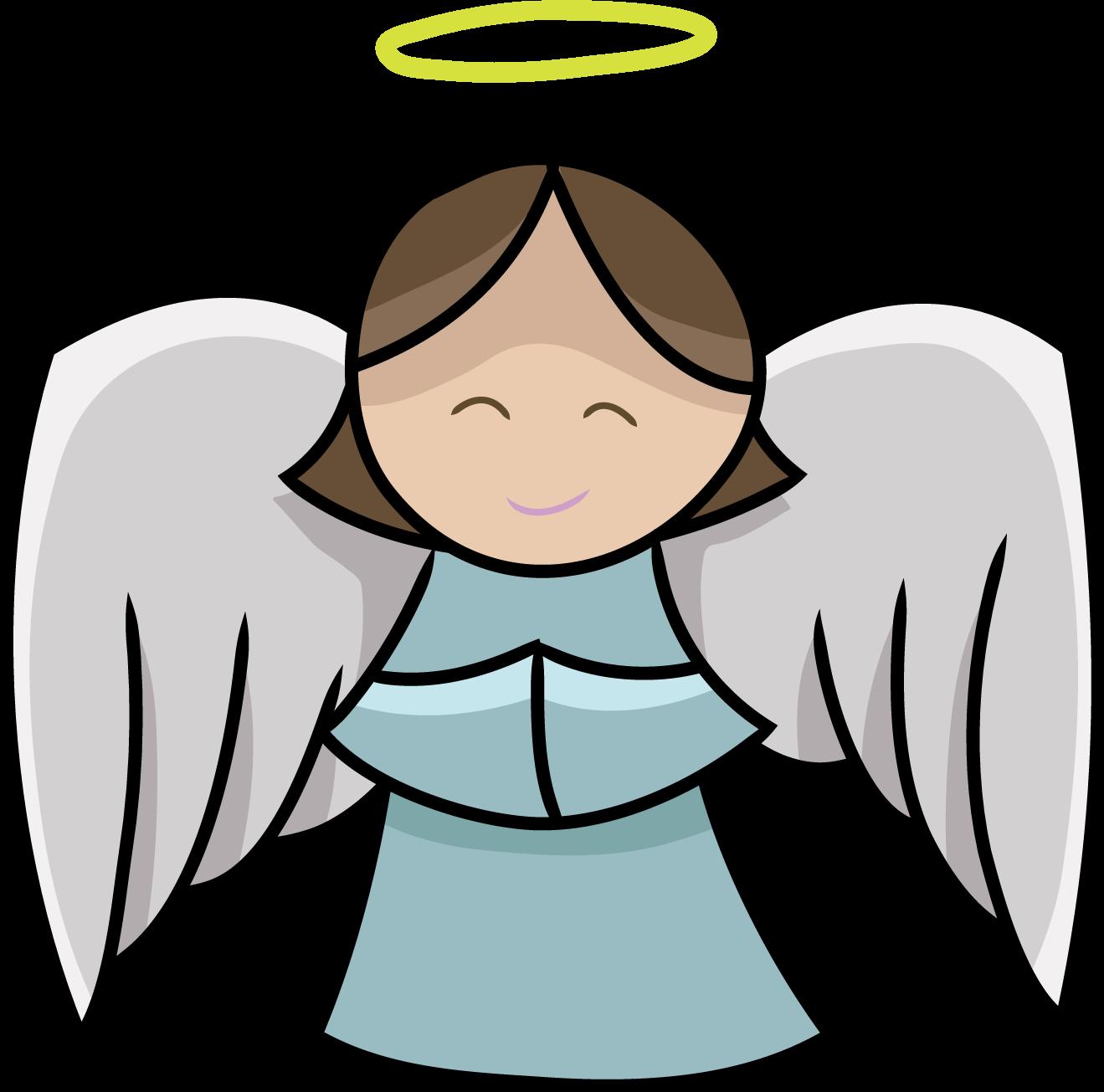 1319x1305 Cute Angel Clipart