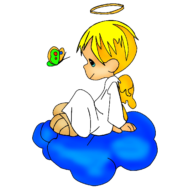 600x600 Graphics For Cute Boy Angel Graphics