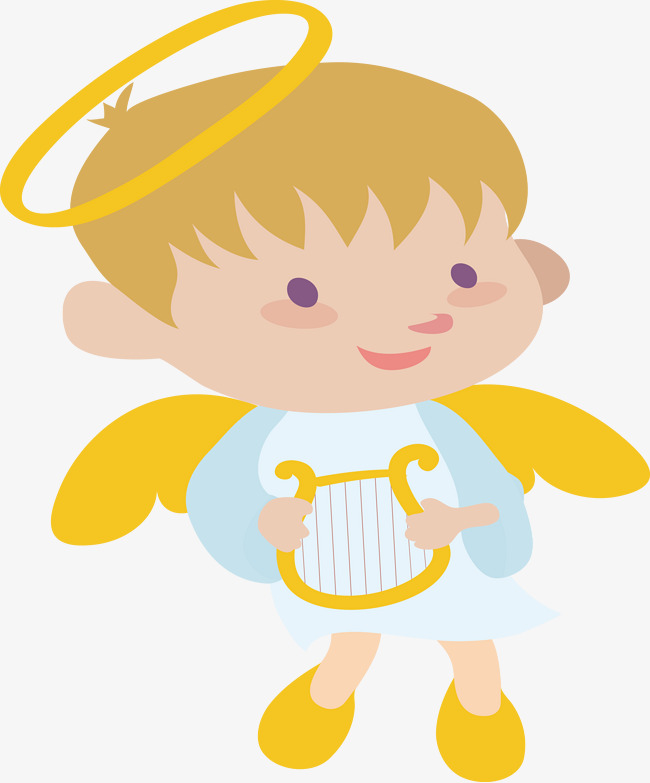 650x783 Cartoon Little Angel, Angel, Cartoon, Boy Png And Vector For Free
