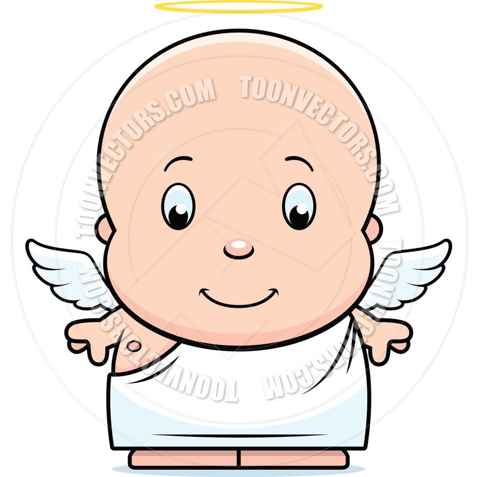940x940 Cartoon Baby Angel By Cory Thoman Toon Vectors Eps