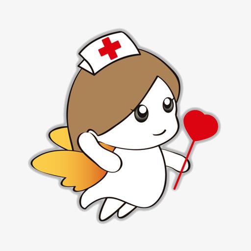 512x512 Cartoon Nurse Angel, Cartoon Nurse, Angel, Love Png Image For Free