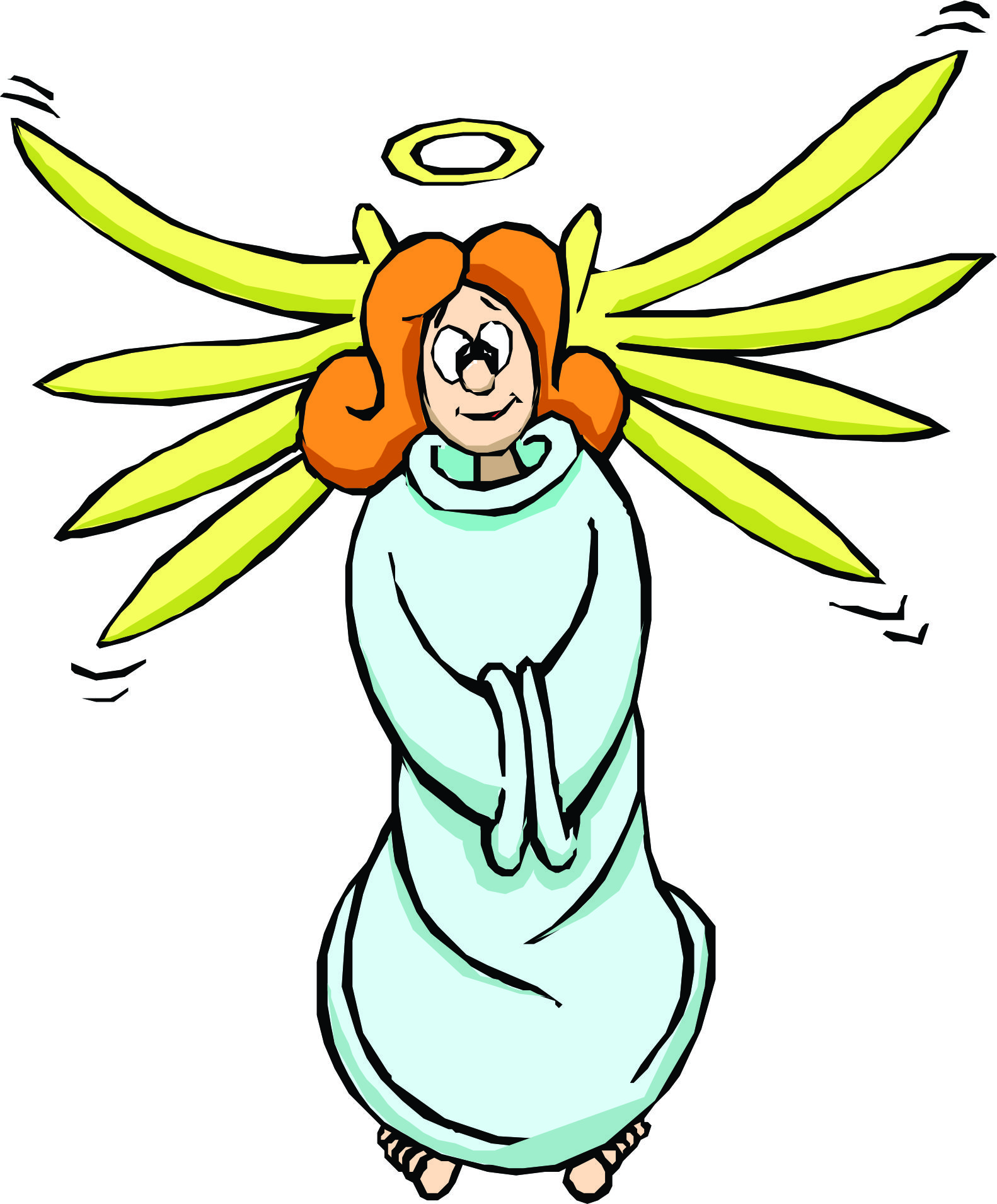 1582x1910 Cartoon Pictures Of Angels