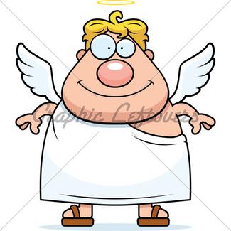 325x325 Angel Dog Gl Stock Images