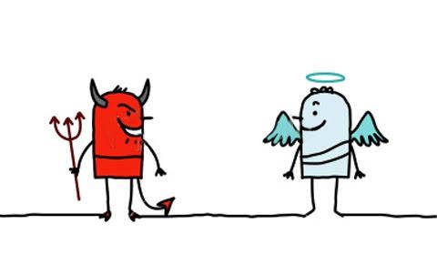 480x280 Cartoon Angel Clipart