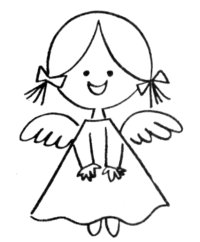 200x242 Angel Clipart Guardian Angel