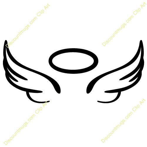 500x500 Dark Angel Clipart Halo