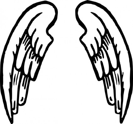 425x396 Little Angel Clipart