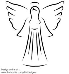 236x250 Angel Printable Free Printable Angel Patterns And Angel Symbols