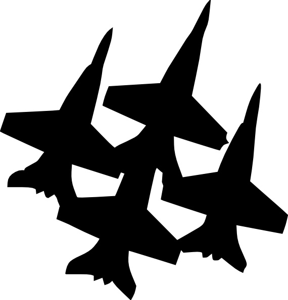 570x595 Blue Angels Formation clip art Free vector in Open office drawing
