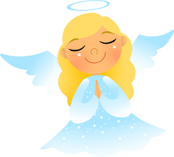 340x307 Free angel clip art pictures 2