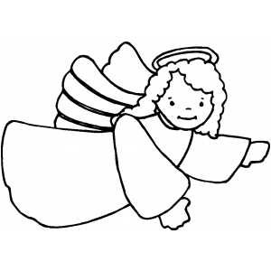 300x300 Coloring Pages Luxury Angel Coloring Sheet Color Pages Angel
