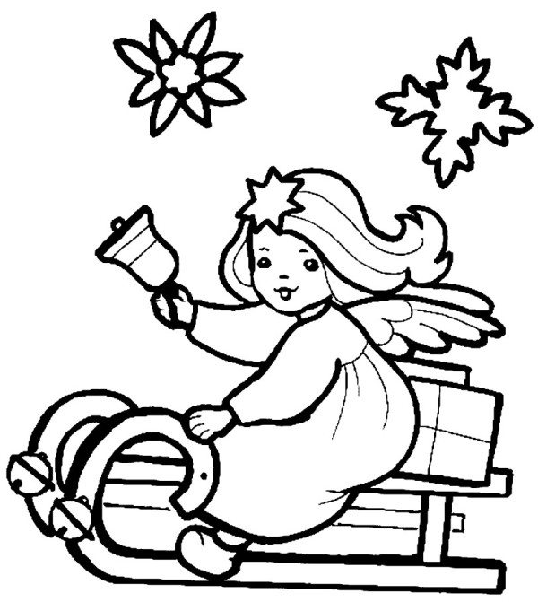 Angel Coloring Pages Free Download Best Angel Coloring Pages On