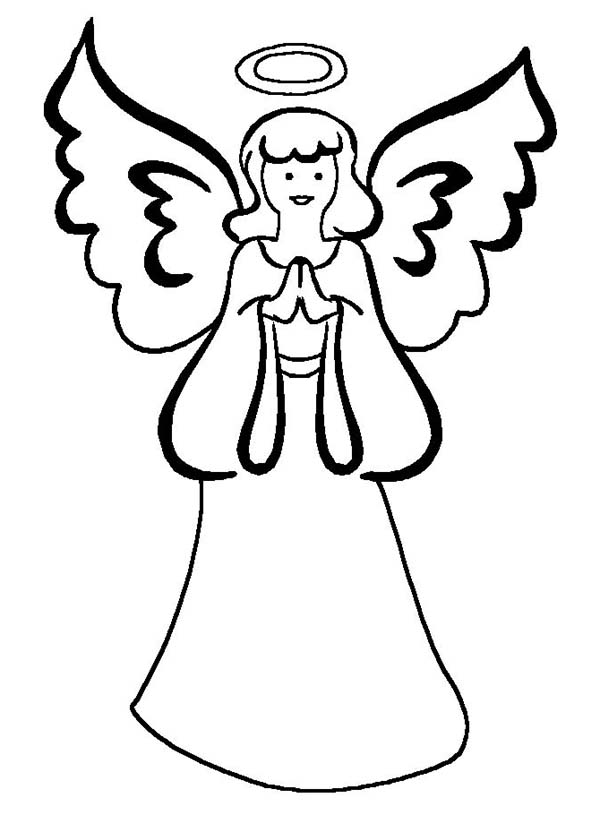 600x815 Mother Of Angels Coloring Page Color Luna