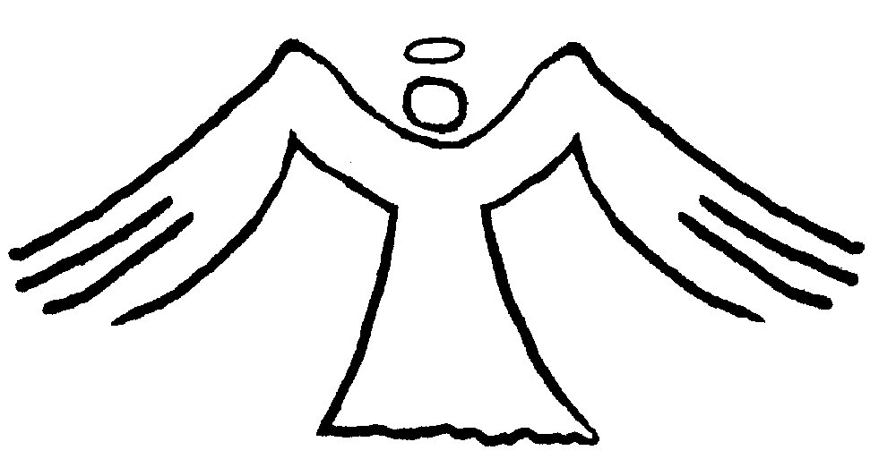 1000x532 Wings Clipart Coloring Page