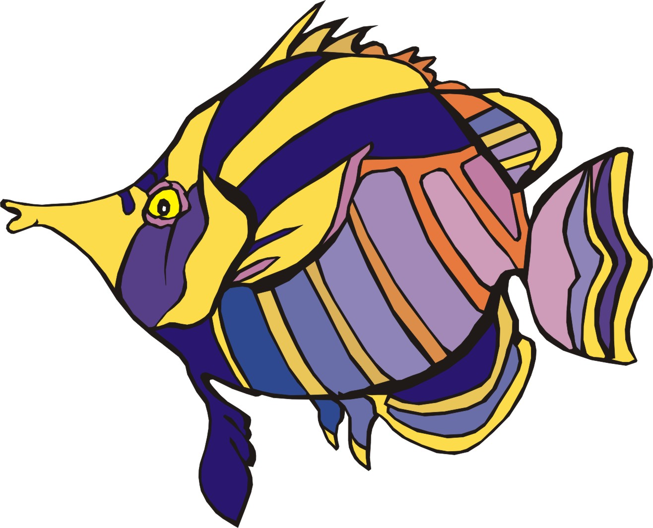 Angel Fish Clipart