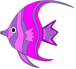 250x226 Angel Fish Clipart Free Clipart Images