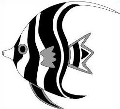 248x224 Free Angel Fish Clipart