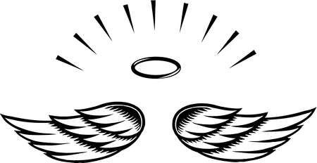 450x232 Ideal Angel Wing Clipart