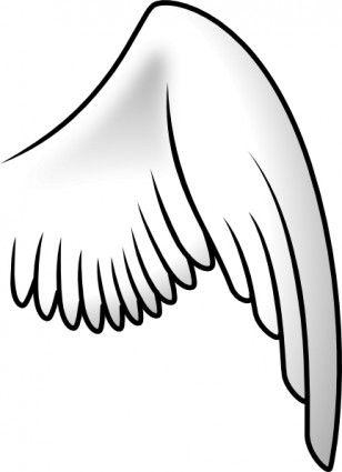 308x425 The Best Angel Wings Clip Art Ideas Wings Logo