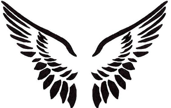 564x357 Angel Wings Clip Art