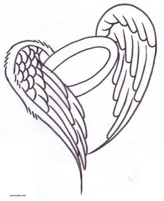 Angel Halo Drawings