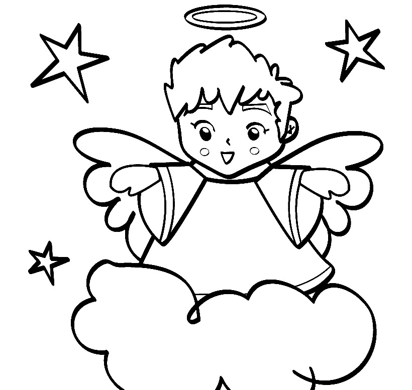 820x777 Boy Angel Pictures Cliparts.co In Style