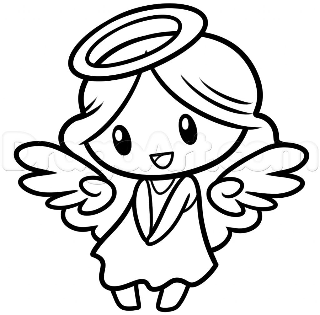 1024x1007 How To Draw A Angel Halo Angel Halo Drawings Clipartsco