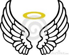236x189 Simple Angel Wings Template Angel Wing Transparent Clip Art