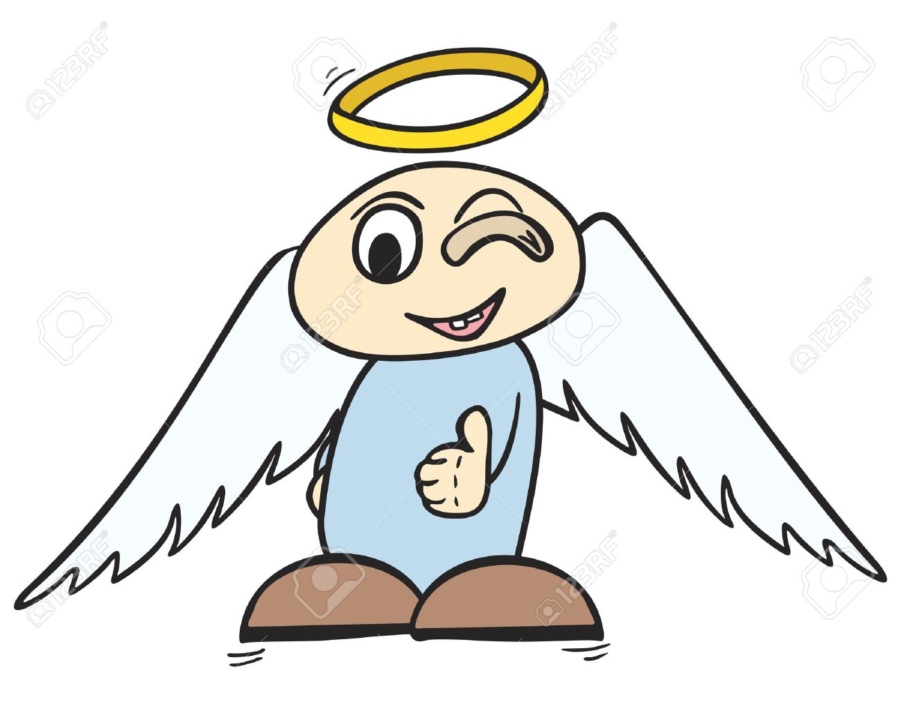 1300x1031 Halo Clipart Little Angel