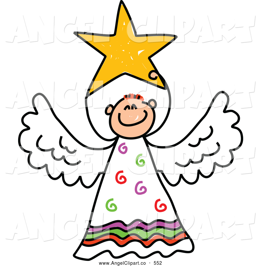1024x1044 Clip Art Of A Peaceful Angel With A Smile On His Face By Prawny