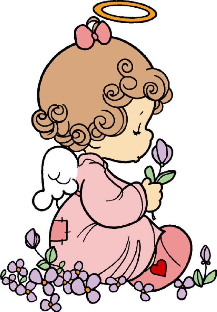 736x1055 Angel Clipart Precious Moment