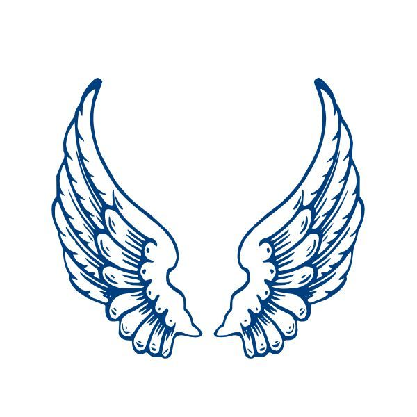 600x600 The Best Angel Wings Clip Art Ideas Wings Logo