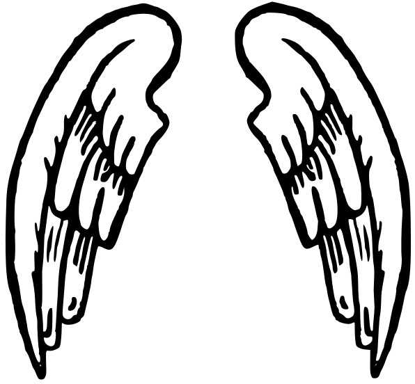 596x552 Angel Wings Free Angel Wing Clip Art Free Vector For Free Download
