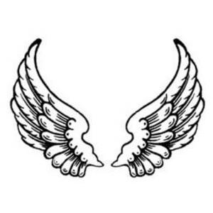 300x300 Angel Wing Clip Art
