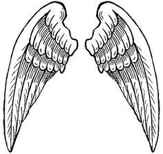 236x223 Angel Wing Clip Art