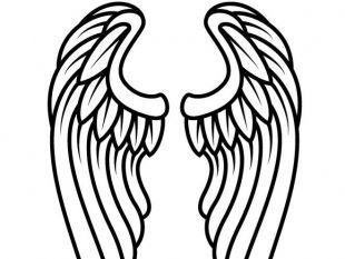 310x233 Angel Wings Tattoo Clip Art Free Vectors Ui Download