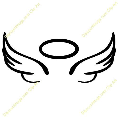 500x500 Angel Wings Clip Art Angel Wings Clip Art Free Vector 4vector