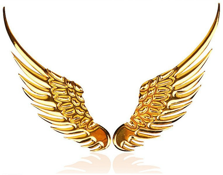 764x598 Wings Clipart Gold