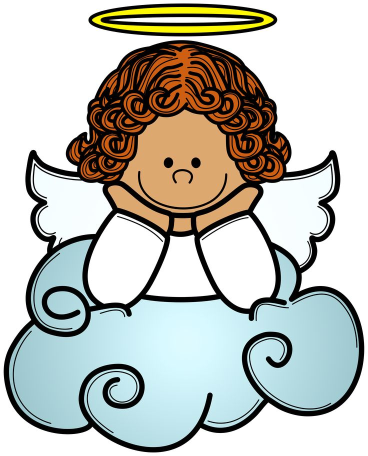 Angels Cartoons Clipart