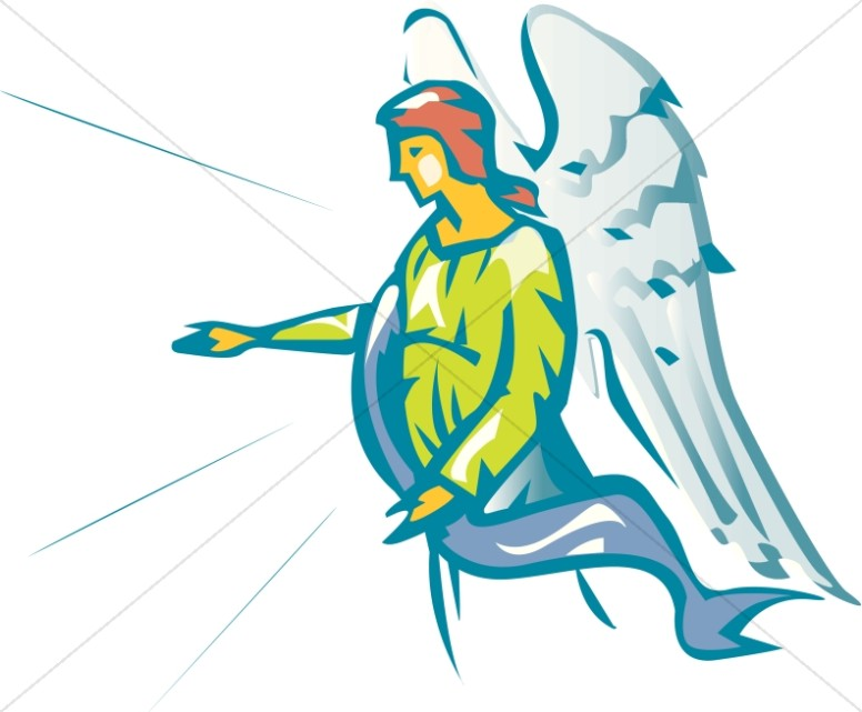 776x641 Angel clipart angel gabriel