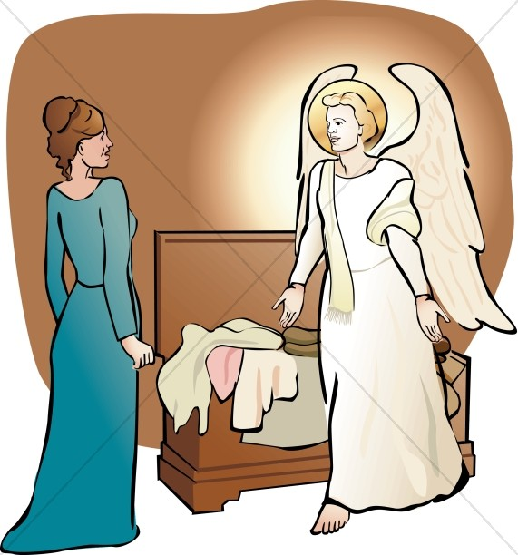571x612 Angel clipart nativity angel