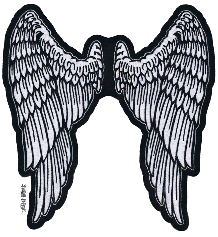 735x800 Angel Wings Clipart Angel Wing Patches Angel Wings