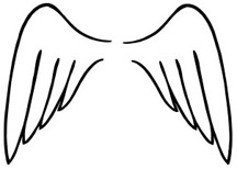 216x154 Angle Wings Decal 2