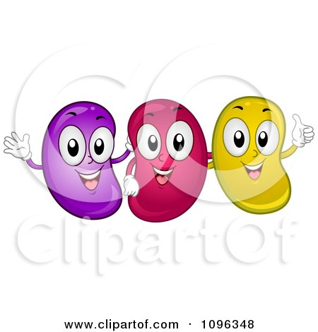 450x470 Jelly Beans Clipart Face