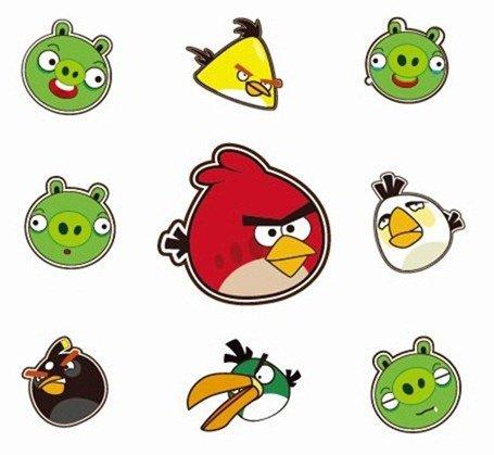 455x419 Angry Birds, Clip Art